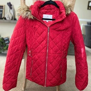 Guess Red Jacket